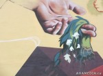 315 AHA MEDIA films W2 Soul Garden Mural in Vancouver Downtown Eastside (DTES)