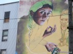 316 AHA MEDIA films W2 Soul Garden Mural in Vancouver Downtown Eastside (DTES)