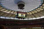 32 AHA MEDIA films 2011 Grey Cup - BC Lions vs Winnipeg Blue Bombers in Vancouver