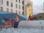 322 AHA MEDIA films W2 Soul Garden Mural in Vancouver Downtown Eastside (DTES)