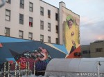 323 AHA MEDIA films W2 Soul Garden Mural in Vancouver Downtown Eastside (DTES)