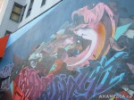 340 AHA MEDIA films W2 Soul Garden Mural in Vancouver Downtown Eastside (DTES)