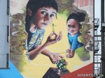 380 AHA MEDIA films W2 Soul Garden Mural in Vancouver Downtown Eastside (DTES)