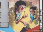 381 AHA MEDIA films W2 Soul Garden Mural in Vancouver Downtown Eastside (DTES)