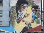 385 AHA MEDIA films W2 Soul Garden Mural in Vancouver Downtown Eastside (DTES)