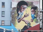 399 AHA MEDIA films W2 Soul Garden Mural in Vancouver Downtown Eastside (DTES)