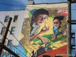 408 AHA MEDIA films W2 Soul Garden Mural in Vancouver Downtown Eastside (DTES)