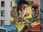 412 AHA MEDIA films W2 Soul Garden Mural in Vancouver Downtown Eastside (DTES)
