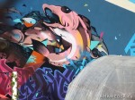 414 AHA MEDIA films W2 Soul Garden Mural in Vancouver Downtown Eastside (DTES)