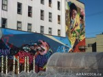 415 AHA MEDIA films W2 Soul Garden Mural in Vancouver Downtown Eastside (DTES)