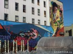 416 AHA MEDIA films W2 Soul Garden Mural in Vancouver Downtown Eastside (DTES)