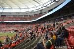 42 AHA MEDIA films 2011 Grey Cup - BC Lions vs Winnipeg Blue Bombers in Vancouver
