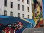 422 AHA MEDIA films W2 Soul Garden Mural in Vancouver Downtown Eastside(DTES)