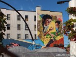 423 AHA MEDIA films W2 Soul Garden Mural in Vancouver Downtown Eastside (DTES)