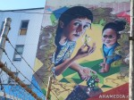 424 AHA MEDIA films W2 Soul Garden Mural in Vancouver Downtown Eastside(DTES)