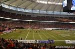 61 AHA MEDIA films 2011 Grey Cup - BC Lions vs Winnipeg Blue Bombers in Vancouver