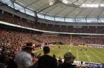 69 AHA MEDIA films 2011 Grey Cup - BC Lions vs Winnipeg Blue Bombers in Vancouver