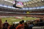 78 AHA MEDIA films 2011 Grey Cup - BC Lions vs Winnipeg Blue Bombers in Vancouver