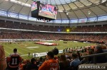 78 AHA MEDIA films 2011 Grey Cup - BC Lions vs Winnipeg Blue Bombers in Vancouver
