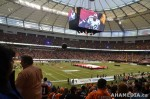 79 AHA MEDIA films 2011 Grey Cup - BC Lions vs Winnipeg Blue Bombers in Vancouver