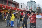 100 AHA MEDIA films Carnegie Street Band in Chinese New Year Parade 2012 in Vancouver