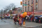129 AHA MEDIA films CACV Eco Art Dragon in Chinese New Year Parade 2012 inVancouver