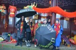16 AHA MEDIA films CACV Eco Art Dragon in Chinese New Year Parade 2012 in Vancouver