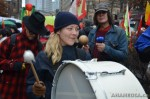 19 AHA MEDIA films Carnegie Street Band in Chinese New Year Parade 2012 in Vancouver