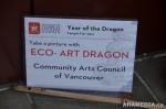 23 AHA MEDIA films CACV Eco Art Dragon in Chinese New Year Parade 2012 in Vancouver