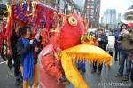 31 AHA MEDIA films CACV Eco Art Dragon in Chinese New Year Parade 2012 inVancouver