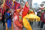 32 AHA MEDIA films CACV Eco Art Dragon in Chinese New Year Parade 2012 in Vancouver