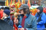 38 AHA MEDIA films Carnegie Street Band in Chinese New Year Parade 2012 in Vancouver