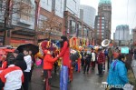 39 AHA MEDIA films Carnegie Street Band in Chinese New Year Parade 2012 in Vancouver