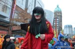 41 AHA MEDIA films CACV Eco Art Dragon in Chinese New Year Parade 2012 in Vancouver