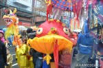 50 AHA MEDIA films CACV Eco Art Dragon in Chinese New Year Parade 2012 inVancouver