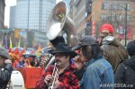 50 AHA MEDIA films Carnegie Street Band in Chinese New Year Parade 2012 in Vancouver
