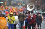56 AHA MEDIA films Carnegie Street Band in Chinese New Year Parade 2012 in Vancouver