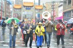 63 AHA MEDIA films Carnegie Street Band in Chinese New Year Parade 2012 in Vancouver
