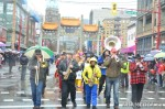 64 AHA MEDIA films Carnegie Street Band in Chinese New Year Parade 2012 inVancouver