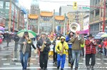 65 AHA MEDIA films Carnegie Street Band in Chinese New Year Parade 2012 in Vancouver