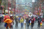77 AHA MEDIA films Carnegie Street Band in Chinese New Year Parade 2012 in Vancouver