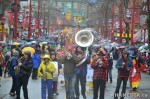 79 AHA MEDIA films Carnegie Street Band in Chinese New Year Parade 2012 in Vancouver