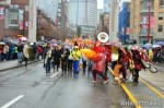 88 AHA MEDIA films CACV Eco Art Dragon in Chinese New Year Parade 2012 in Vancouver