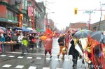 92 AHA MEDIA films CACV Eco Art Dragon in Chinese New Year Parade 2012 in Vancouver