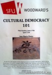 1 AHA MEDIA at Anne Marie Slater's Cultural Democracy 101 talk at SFU Vancouver