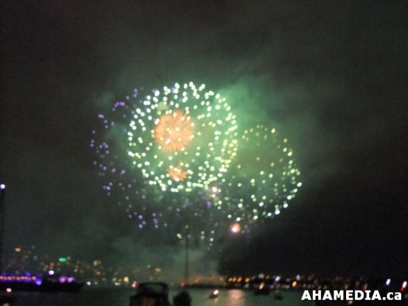 100 AHA MEDIA sees Celebration of Lights Brazil in Vancouver