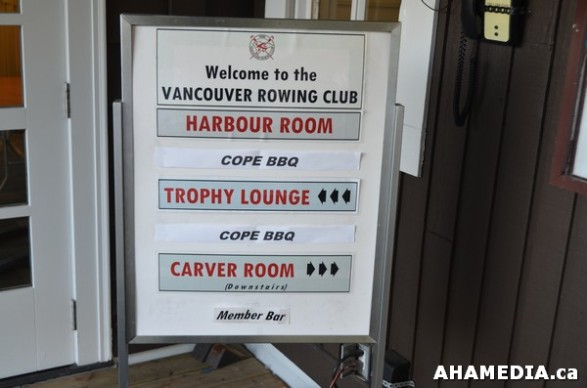 1 AHA MEDIA at COPE Summer BBQ at Vancouver Rowing Club