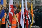 6 AHA MEDIA at Remembrance Day 2012 ceremony in Victory Square inVancouver