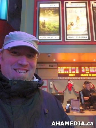 1 AHA MEDIA at The Hobbit premier in Vancouver