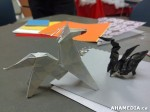 12 AHA MEDIA at Yoko Tomita's Christmas Origami workshop in Vancouver